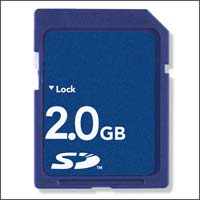 2GB SD 150X!!! Highspeed (Samsung flash chips)